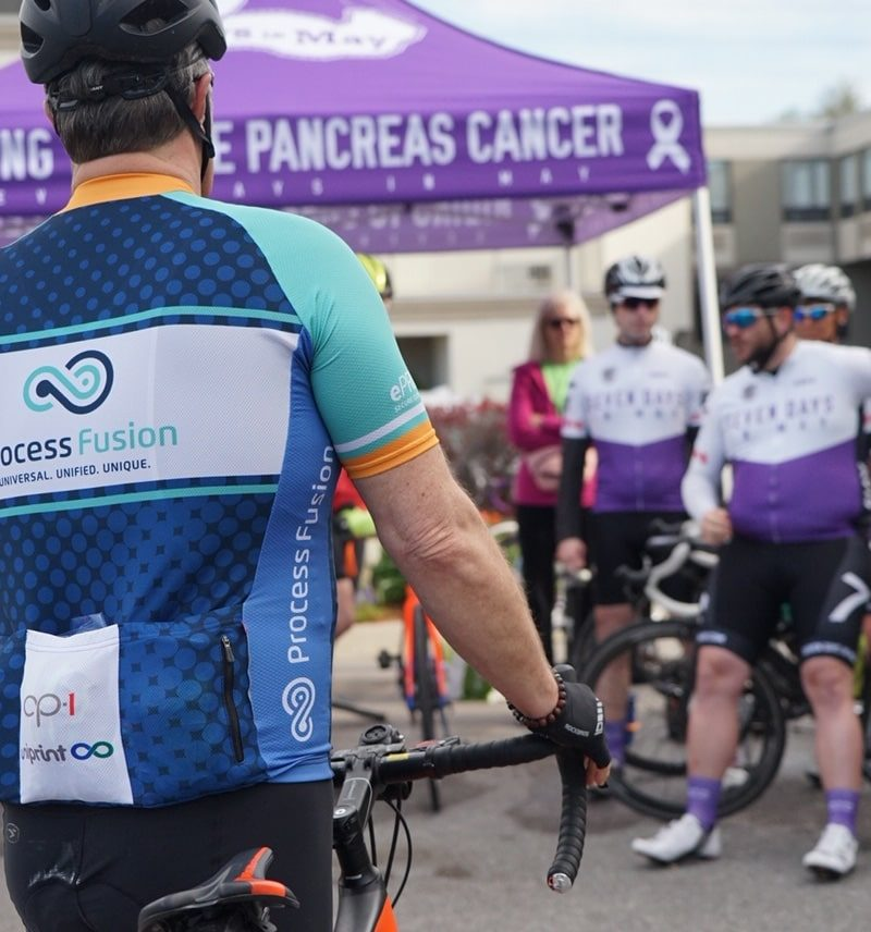 Process Fusion Participates In 7 Days In May Cancer Charity Ride